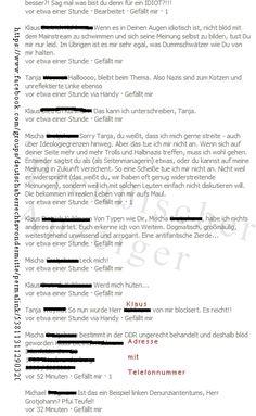 """Facebooknutzer sind derzeit im Meldewahn. Ob angestachelt durch """"ihre"""" Parteien oder Vereinigungen, sei dahingestellt. Aber es ist auffällig, das vor allem politische Namen ein Problem mit Facebook bekommen. War es vor Wochen der Preußische Anzeiger der auf Facebook wegen angeblicher Gewaltverherrlichung gleich gelöscht wurde, traf es unlängst den charismatischen Österreicher: mehr: http://www.preussischer-anzeiger.de/2013/08/sperrwahn/"""