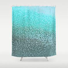 GATSBY TEAL Shower Curtain by Monika Strigel - $68.00