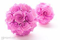 Origami : Rose