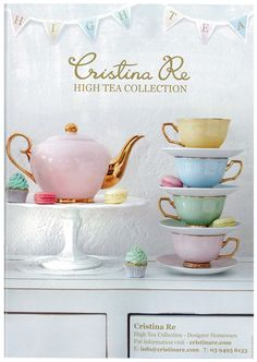 Pretty pastels from Christina Re.