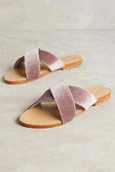2ed6e748f4be Mystique Velvet Slide Sandals Loafer Sneakers