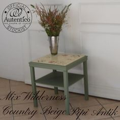 Minibord i Mix Wilderness og Country Beige Autentico