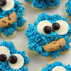 Cookie monster cookies....