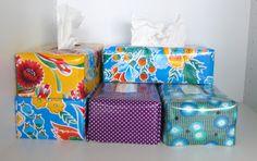 huisje creatief: Tissue box - De handleiding