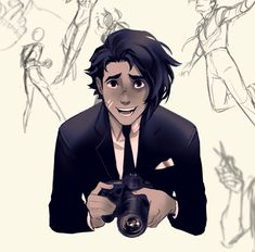 By PrinceCanary /Star_bite Guy Drawing, Character Drawing, Character Concept, Cute Characters, Anime Characters, Art Sketches, Art Drawings, Star Bite, Cool Anime Guys