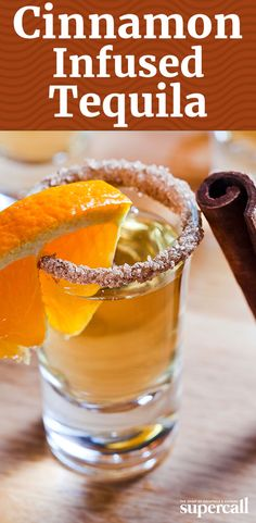 Make this easy cinnamon-infused tequila ahead of time, and use it in cocktails like our Cinnamon Ciderdog—a hard apple cider Mexican Bulldog.