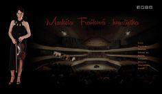 WFB Media Plzeň, zhotovení webových stránek a prezentací nejen            v Plzni a okolí - reference: vytvořili jsme tyto webové stránky pro houslistku Markétu Fraňkovou
