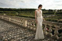 "Alon Livne White - 2016 Collection - ""Rose"" dress."