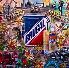 Image result for brugal rum display Brugal Rum, Display, London, Canning, Image, Art, Floor Space, Art Background, Billboard