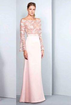 vestido de festa nude ou rosa