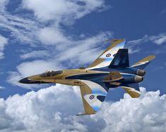 CF-18-A RCAF demonstration Hornet.
