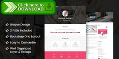 [ThemeForest]Free nulled download Folder -  Freelancer One Page Portfolio & Resume PSD Template from http://zippyfile.download/f.php?id=12600 Tags: clean design, freelancer portfolio psd, landing page psd, modern design, one page, one page portfolio, personal portfolio, personal portfolio psd, portfolio, resume psd template, single page portfolio, web designer portfolio
