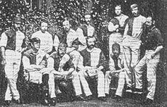 Oxford University won the 1874 F.A. Cup