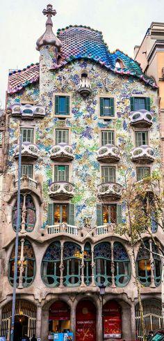 Beautiful design of Gaudí