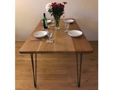 Image result for dining table hairpin scandinavian