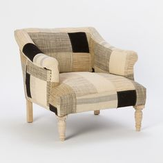 Lancaster Patchwork Chair in House+Home HOME DÉCOR Furniture Seating at Terrain