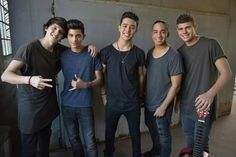 Cnco From left to right: christopher, erick, joel, richard, zabdiel Cnco Band, Just Pretend, Latin Music, Ricky Martin, With All My Heart, Funny Me, Reggae, Cool Bands, Just Love