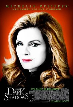 """See Michelle Pfeiffer in """"Dark Shadows."""" Opens in IMAX May 11, 2012."""