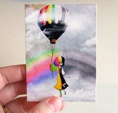Hey, I found this really awesome Etsy listing at https://www.etsy.com/listing/70317497/aceoatc-causing-a-stir-two-tone-rainbow