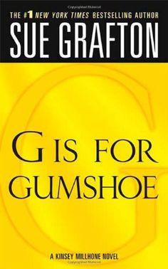 G is for Gumshoe (The Kinsey Millhone Alphabet Mysteries) by Sue Grafton http://www.amazon.com/dp/0312946201/ref=cm_sw_r_pi_dp_MTKXwb150B2ZA
