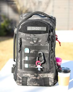 235d611094a Tactical Baby Gear Military Diaper Bag. Best diaper bag gear for new Dads.  Black
