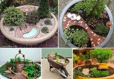Decoratiuni gradina - Idei creative pentru amenajarea gradinii  Gradina este spatiul in care ne relaxam si pe care iubim sa-l ingrijim si sa-l facem locul de care suntem mandri prin diferitele decoratiuni si plante de care