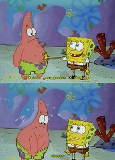 oh spongebob and patrick
