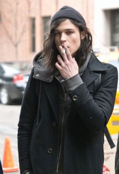 Miles McMillan stop smoking, you're already way too hot