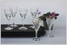 Saint Louis Chantilly 6 verres à vin n°4 new - 6 Bordeaux wine glasses new