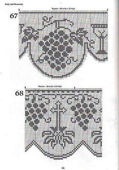 "Photo from album ""кайма крючком"" on Yandex. Crochet Lace Edging, Crochet Motifs, Crochet Doilies, Cross Stitch Borders, Cross Stitch Charts, Cross Stitch Designs, Doily Patterns, Embroidery Patterns, Crochet Patterns"