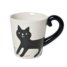 Common contour | Cat Tail Mug