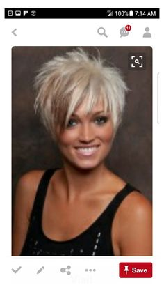 Short Hair Styles For Round Faces, Short Thin Hair, Short Hair With Layers, Thin Hair Cuts, Funky Short Hair Styles, Short Hair For Chubby Faces, Women Short Hair, Short Hair Syles, Short Blonde