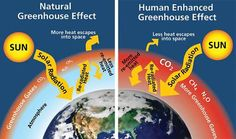 Greenhouse Effect (natural vs human)