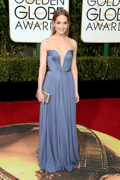 Joanne Froggatt In Reem Acra. 2016 Golden Globes Best Dressed List - Cosmopolitan.com