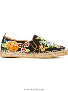 Cheap Women Etro Flower Embroidered Espadrilles In Multicolour 41539745 dad28ba331