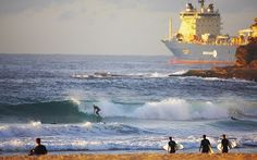 Surfing contrasts.