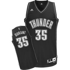 9822938f68c8 Thunder Kevin Durant Black Shadow With Finals Patch Stitched NBA Jersey