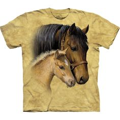 Horse & Baby Gentle Touch Kids T-Shirt