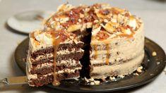 Sjokoladekake med peanøttsmørkrem – NRK Mat – Oppskrifter og inspirasjon Christmas And New Year, No Bake Cake, Recipies, Cheesecake, Sweets, Cookies, Baking, Breakfast, Desserts