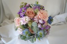 Impression for a Blue / Pink Wedding