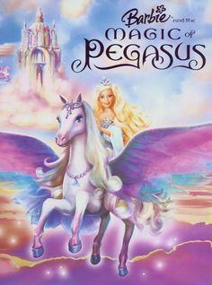 Pegasus in the Barbie movie, Barbie and the Magic Pegasus.
