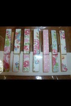 Cath Kidston fridge magnets, hand decoupaged set of 7 magnets £4.99 including free delivery to any uk address , perfect stocking fillers x  https://www.facebook.com/HomemadeBuntingAndNurseryBedding