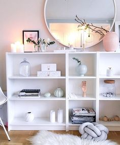 Ikea 'Billy' bookcases @interiorbysarahstrath