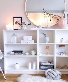 Ikea 'Billy' bookcases @interiorbysarahstrath