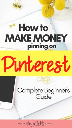 Pinterest Tips for Bloggers who want to make money online. Complete beginner and intermediate guide. Full Pinterest strategy teaching you how to rock Pinterest and bring loads of traffic and income to your blog.