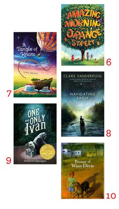 10 Wonderful End-of-Summer Chapter Books.
