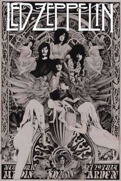 Led Zeppelin poster. Houses of the Holy