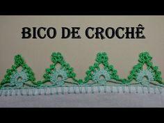 Bico de Crochê Super Fácil - Barradinho 01 - YouTube