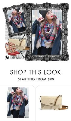 """""""Sheinside scarf contest"""" by dinna-mehic ❤ liked on Polyvore featuring UGG Australia and Valentino"""
