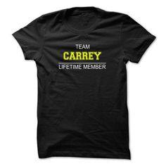 awesome CARREY T-shirt Hoodie - Team CARREY Lifetime Member